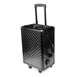 Valise de visagiste diamant noire (KC-158S-CR-B) icon