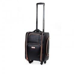 Kufer kosmetyczny na kółkach BLACK & ROSE GOLD (KC-P46S) icon